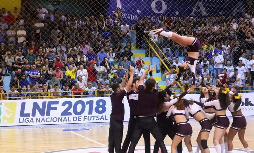 A expansão do cheerleading na Fronteira do Brasil